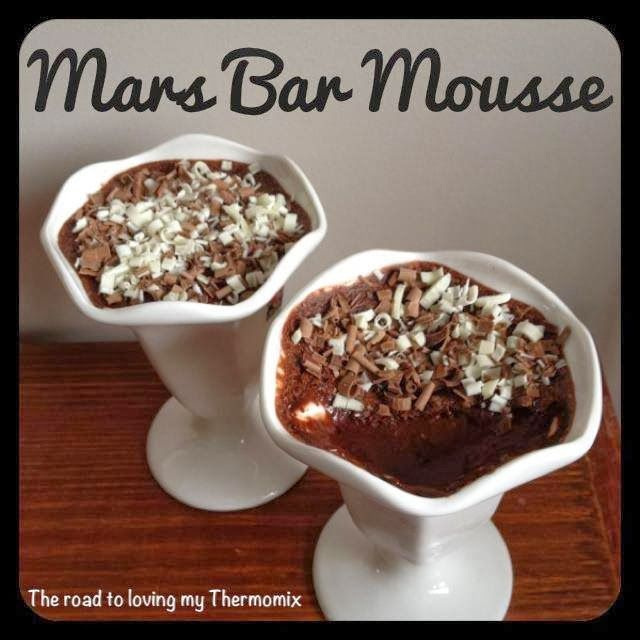 The road to loving my Thermomix: Mars Bar Mousse