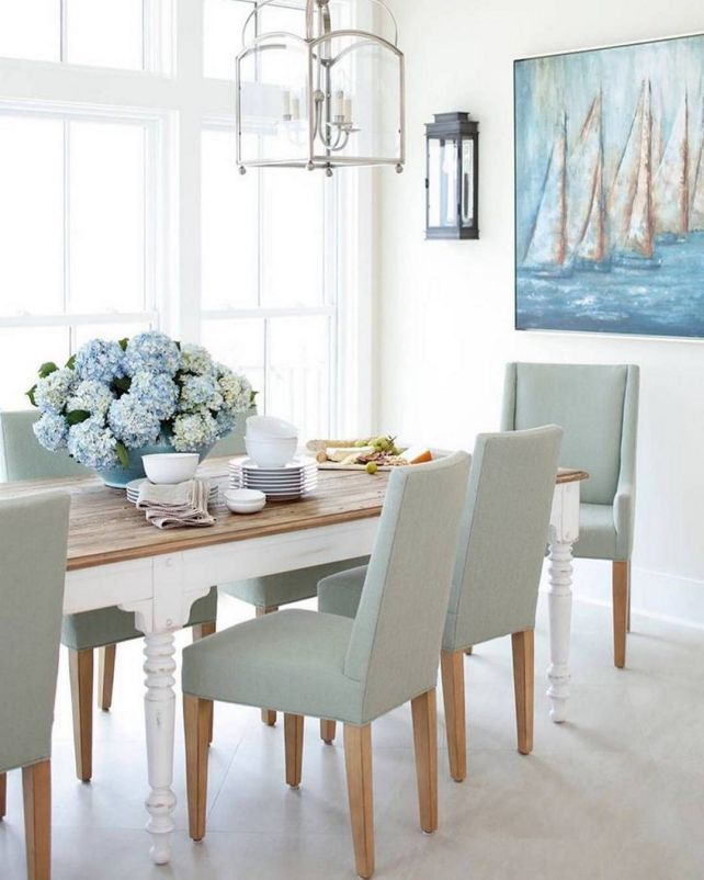 Marvelous Coastal Glam Decor For Beautiful Home Decoration Ideas 038 Dining Rooms Beach