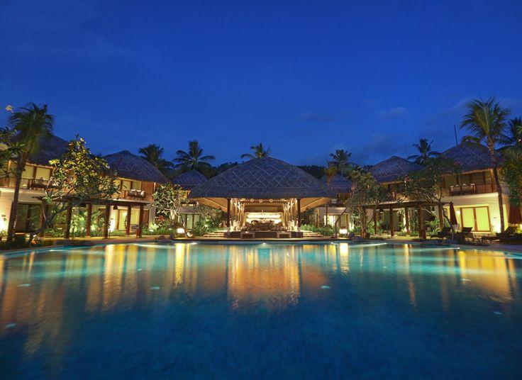 Olah-Olah Restaurant view from pool