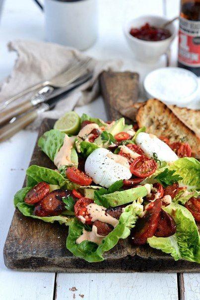 Дьявольски вкусный острый салат