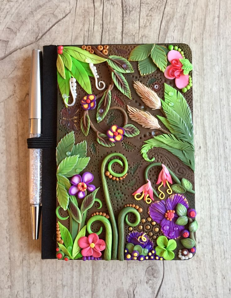 Need spring!... Book cover, polymer