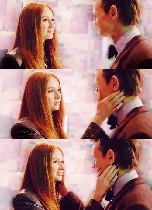 """""""Raggedy Man, Goodnight."""" WAS THIS NECESSARY? <---In a way, I think it was, actually. He's still grieving over the loss of the Ponds. Even after all this time, he's still grieving. He didn't even get to say a proper goodbye. And neither did we. So, through this heart-shattering, soul-destroying moment, we all got to say our last goodbye to Amy."""