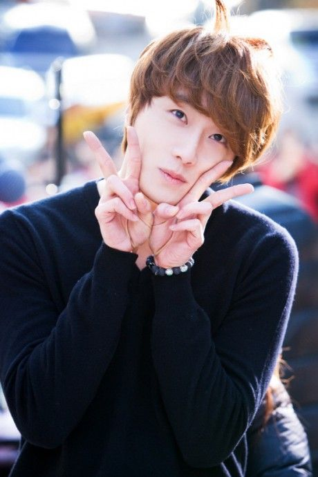 "Jung Il Woo from the set ""Flower Boy Ramyun Shop"""