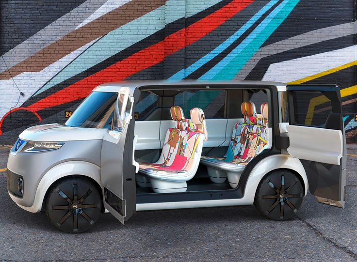 Nissan Teatro for Dayz minicar concept, kei car, digital natives, sharing natives, connected generation, Tokyo 2015