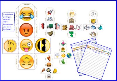 how to get emoji writing