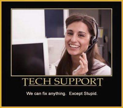 I want this for my cubicle.  Anyone who works in a call center thinks this daily.