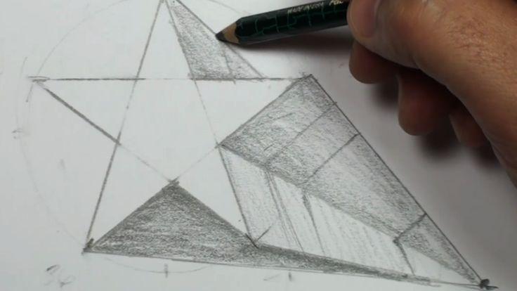 Simple Pencil 3d Drawings For Beginners