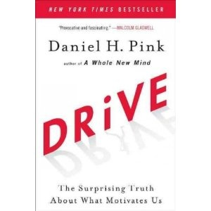 Drive: The Surprising Truth About What Motivates Us by Daniel H. Pink    Great book about motivation. You'll learn what really works when it comes to motivating people and teams