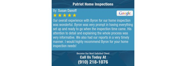 Our overall experience with Byron for our home inspection was wonderful. Byron was very...