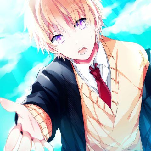 Cute anime boy xD | We Heart It | anime, anime boy, and boy