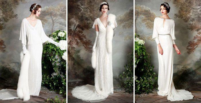 Зимние свадебные платья 2016 года, модные модели и фасоны с фото