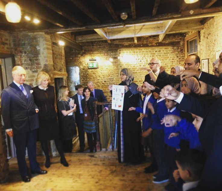 Pupils from Harry Gosling Primary School in East London performed a selection of songs from 19th century musicals for TRH today. The Prince and The Duchess were visiting Wilton's Music Hall to officially reopen the Victorian venue following a restoration project. by clarencehouse