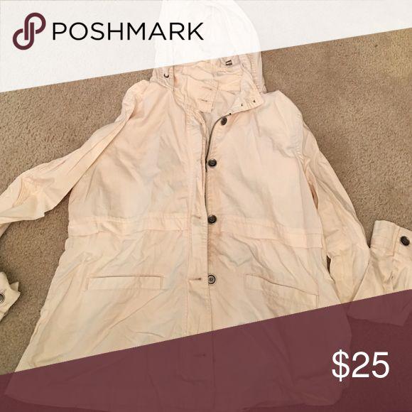 Cream Jacket Cream Urban Outfitters Jacket. Never been worn! Urban Outfitters Jackets & Coats