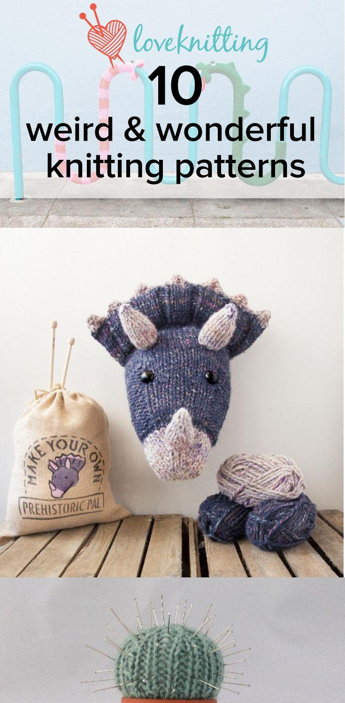 10 weird and wonderful knitting patterns - LoveKnitting