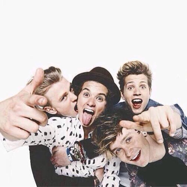 Tristan Evans, Bradley Simpson, Connor Ball and James Mcvey // The Vamps