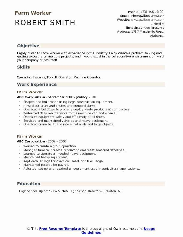 General Labor Resume No Experience Printable Resume Template In 2020 Resume Examples Resume Resume Skills