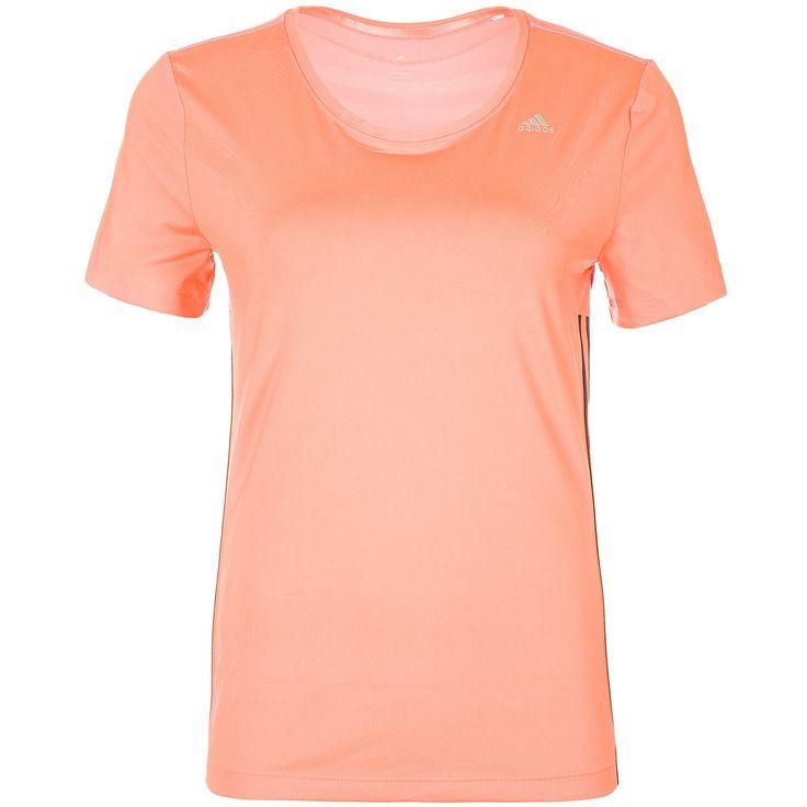 Easy Trainingsshirt Damen    Das modische Easy T-Shirt ist für dein Training bestens geeignet und überzeugt optisch wie funktionell auf ganzer Linie.     Details:  Kopfhörerschlaufe an der Innenseite des Halsausschnitts / Eng anliegende Passform / ClimaCool: Sorgt für optimales Wärme- und Feuchtigkeitsmanagement    Geschlecht: Damen  Material: 80% Polyester / 20% Elasthan  Sportart: Training...