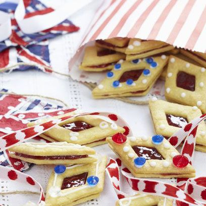 Jammy diamond biscuits recipe. For the full recipe, click the picture or visit RedOnline.co.uk