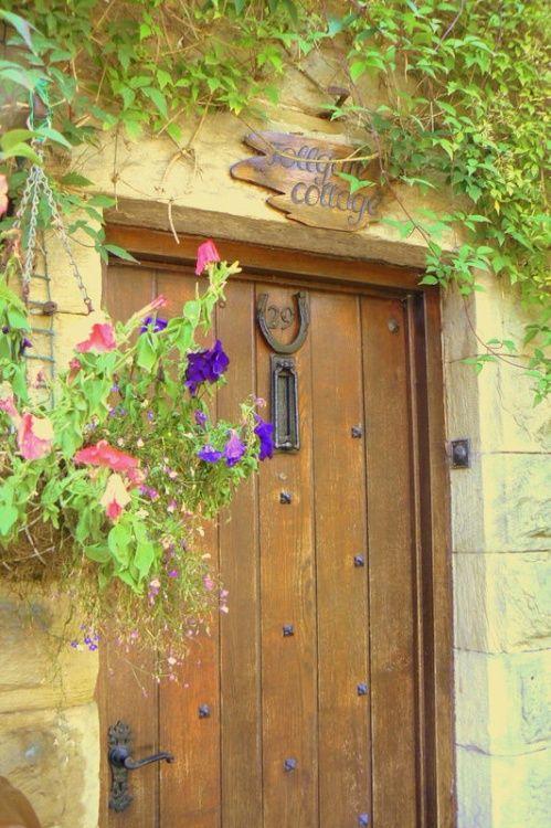 English Cottage Door.