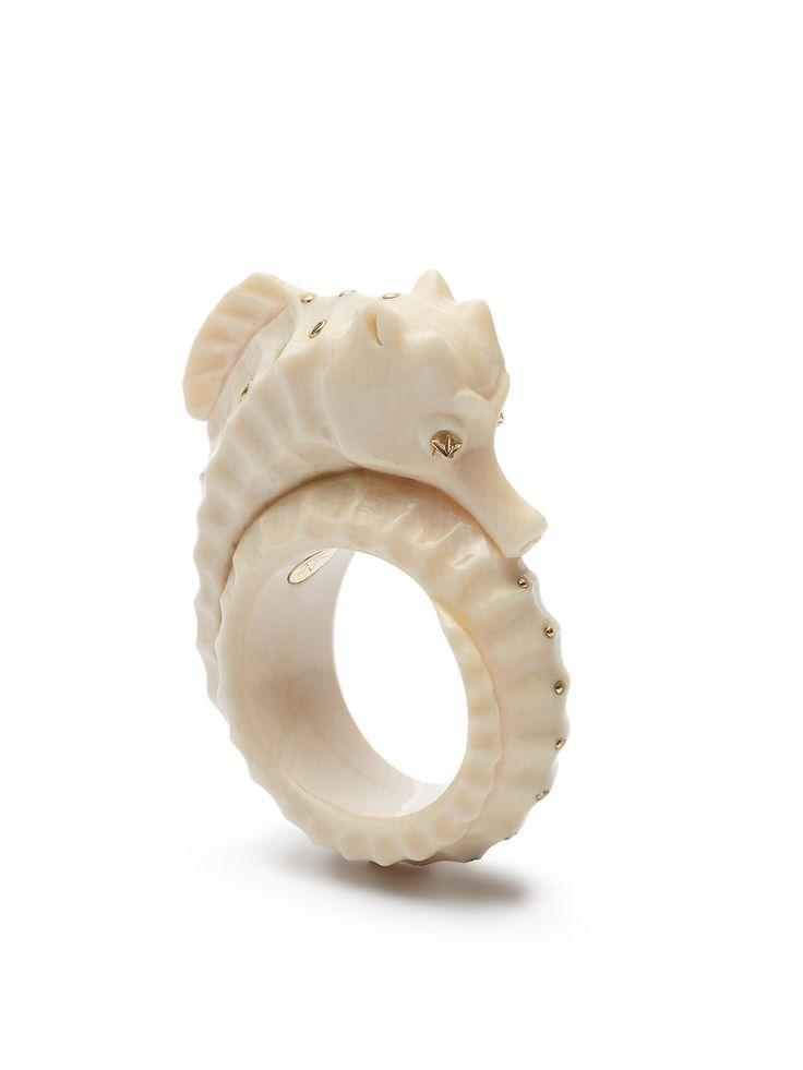 THE OCEANOGRAPHER - Bibi van der Velden seahorse ring. 212 872 2518