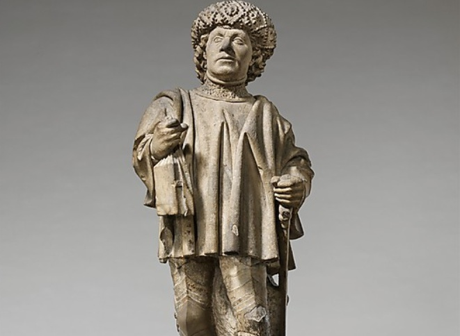 Saint Bavo  North Netherlandish ca 1460  http://www.metmuseum.org/Collections/search-the-collections/170006335