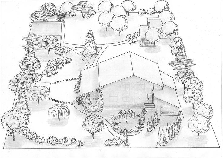ландшафтный дизайн участка 15 соток - Поиск в Google