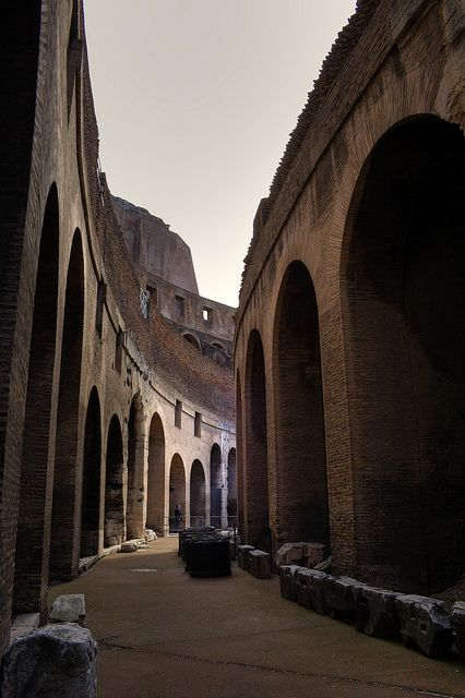Colosseum Detail, Rome