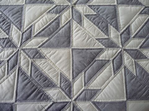 Hunters Star Quilt detail - carried by Amish Spirit Quilts - lots of detail - lots of hand quilting!