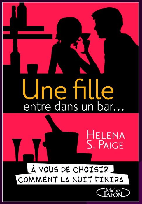 A Girl Walks into a Bar - choose-your-own-destiny erotic novel. French cover.