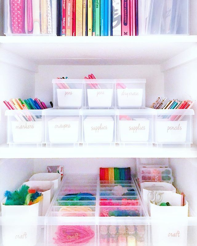 The Home Edit Thehomeedit Instagram Photos And Videos The Home Edit Craft Cabinet Organization