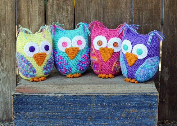 Amigurumi Cute Owl Twins : 9