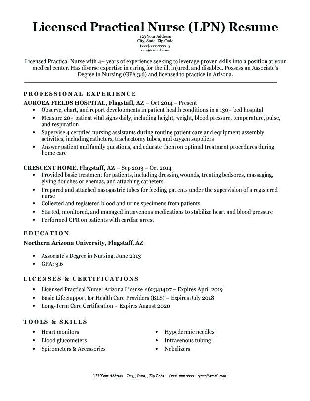 examples of nurse resumes resume examples for nurses ...