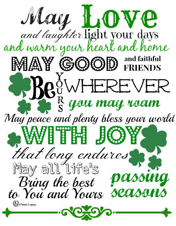 Irish Quotes Celebrate Irish Gifts Handmade By Classic Legacy Adorable Irish Proverbs About Love