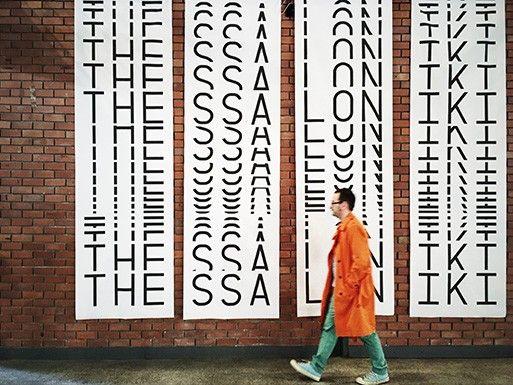Dimitris Papazoglou on the typographic identity of the 57th TIFF | Typeroom.eu