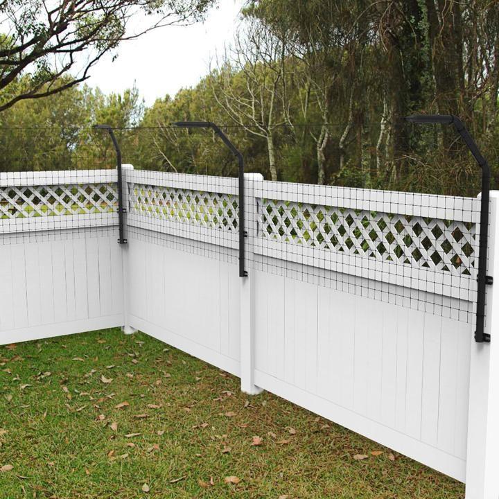 Houdiniproof dog proofer fence extension system kit dog