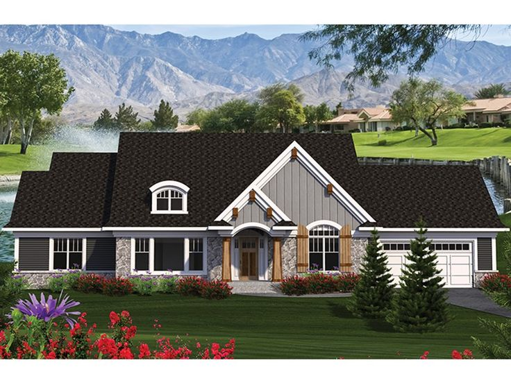 Eplans Craftsman House Plan Splendid Master Suite 2101
