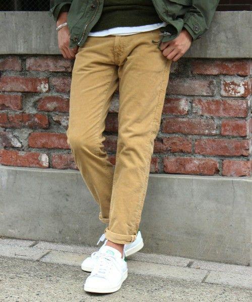 JOURNAL STANDARD MEN'S(ジャーナルスタンダードメンズ)の14Wヴィンテージコール 染め5PK#(パンツ)|キャメル