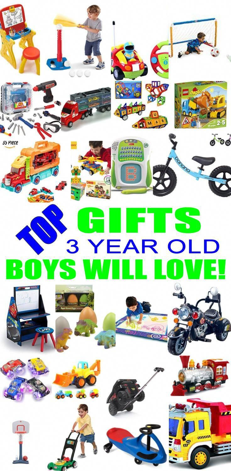 Top Gifts For 3 Year Old Boys! Best gift suggestions & presents for ...