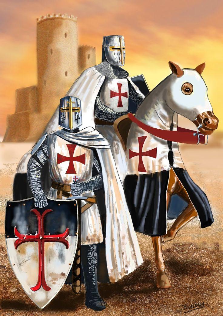 Fernando Calzada Illustrations: The Knights Templars