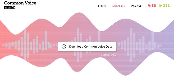 Sharing Our Common Voice — Mozilla Releases Second Largest Public Voice Data Set