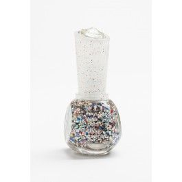 Deluxe glitter nail polish in New Year's Eve