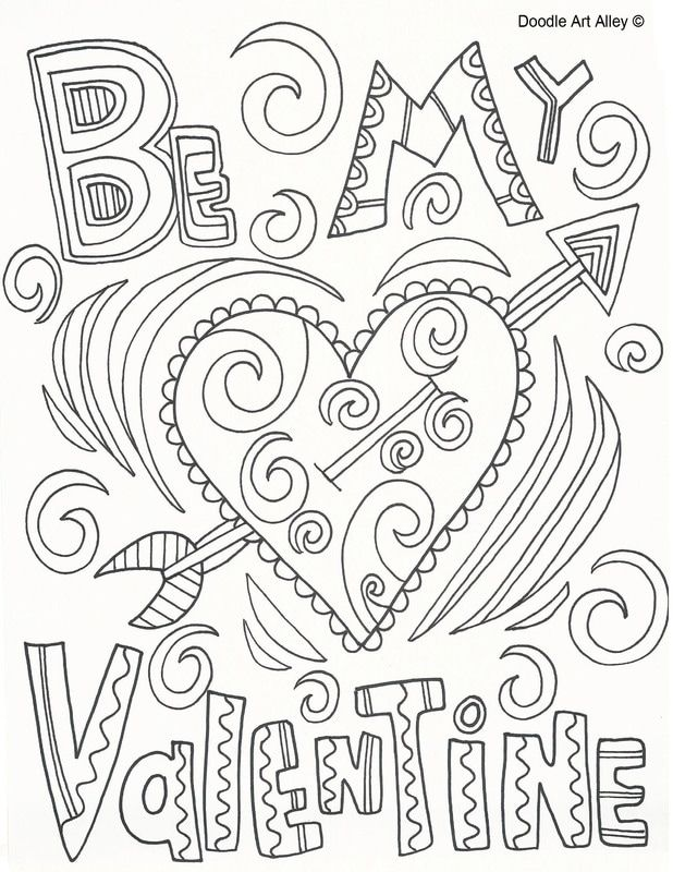 8 best valentine 39 s coloring pages images on pinterest mandalas draw and drawing. Black Bedroom Furniture Sets. Home Design Ideas