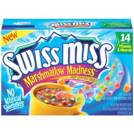 Swiss Miss Marshmallow Madness Hot Cocoa Mix, 8ct