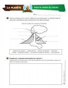 Dans cette activité de science, les élèves du troisième cycle émettront des hypothèses au sujet de la formation des volcans et les compareront aux informations scientifiques contenues dans le texte «Une roche explosive». Ils devront ensuite corriger leurs hypothèses. Le dernier numéro peut se faire au laboratoire informatique et consiste en une recherche à propos...