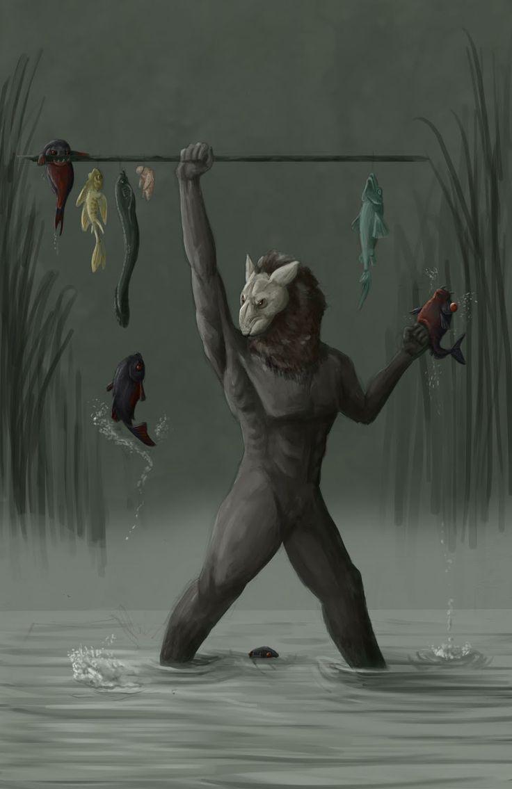 Owl greeting card set welsh artist jen delyth celtic art studio - Wulver Scottish Folklore A Wolf Headed Man Like Creature It Wasnt A Werewolf