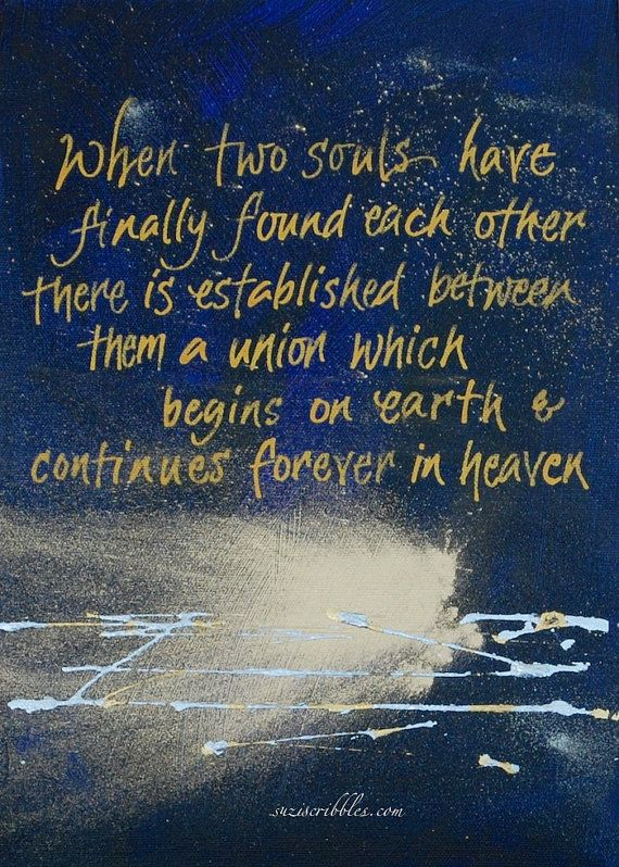 Victor Hugo quote When two souls finally meet by suziscribbles
