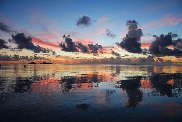 """El paraíso turquesa en """"versión Islas Cook"""""""