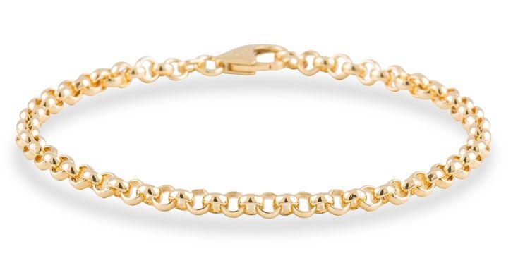 Geelgouden Schakelarmband Jasseron - 4.0 mm x 21 cm 204.2025.21. Prachtige 14 karaats Geelgouden Schakelarmband met een lengte van 21 cm. Deze hoogwaardige gouden armband is 4 mm breed. Draag de armband alleen of combineer het met één van de andere gouden Armbanden uit onze Gold Collection. Denk hierbij niet alleen aan dezelfde kleur edelmetaal, want geel- en witgoud staan ook erg mooi bij elkaar. https://www.timefortrends.nl/sieraden/gouden-sieraden/gold-collection.html?___SID=U
