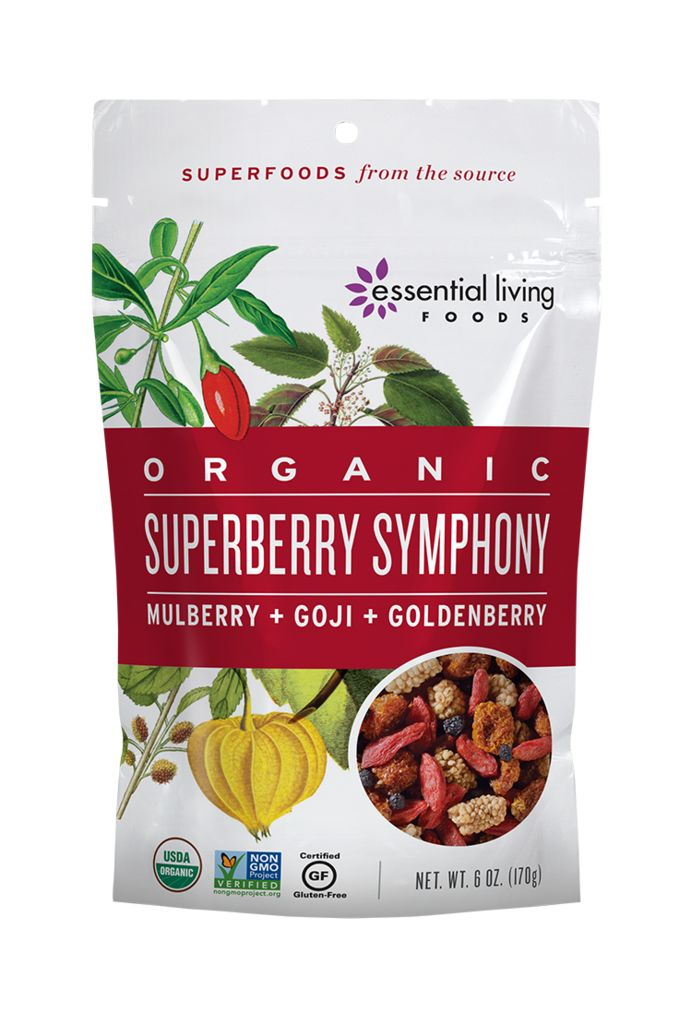 Chewy, sweet and tart with a little crunch, this tasty superberry snack mix is loaded with vital vitamins, essential minerals, immune-boosting bioflavonoids and cell-protecting antioxidants.  A great source of energy, this mix is perfect for hiking fuel, lunch boxes, morning oatmeal, or your favorite dessert recipes.