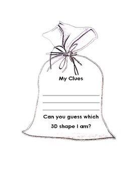 3D Mystery Shape Bag